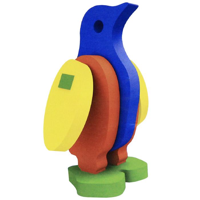 Бомик Мягкий конструктор Пингвин303Мягкий объемный конструктор Пингвин привлечет внимание малыша и не позволит ему скучать. Элементы конструктора выполнены из мягкого, эластичного, прочного материала, который обеспечивает большую долговечность и является абсолютно безопасным для детей. Мягкий конструктор разовьет у ребенка память, воображение, моторику, пространственное и логическое мышление. Порадуйте его таким замечательным подарком!