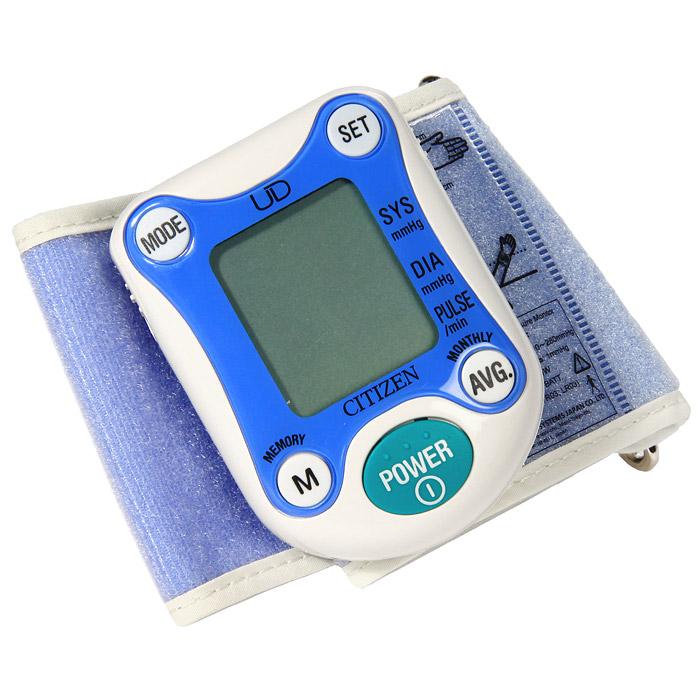 """Прибор  """"Citizen """" - автоматический измеритель артериального давления (тонометр) и частоты пульса."""