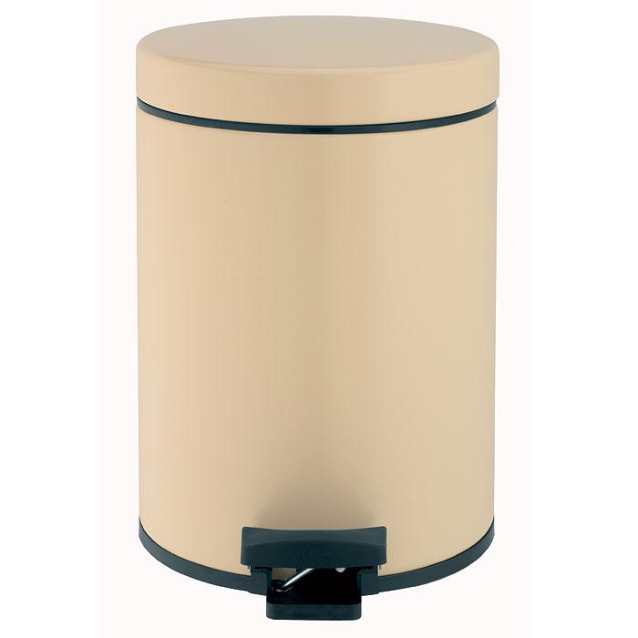 Ведро для мусора Brabantia, с педалью, цвет: миндальный, 5 л390142Ведро для мусора Brabantia, выполненное из гальванизированной стали миндального цвета, обеспечит долгий срок службы и легкую чистку. Ведро поможет вам держать мусор в порядке и предотвратит распространение неприятного запаха. Съемная крышка, выполненная из пластика, оснащена механизмом двойной петли из стали. При открывании вручную крышка фиксируется в открытом положении. Закрывается бесшумно, плотно прилегает, предотвращая распространение запаха. Ведро оснащено педалью, с помощью которой также можно открывать крышку. Нескользящая пластиковая основа ведра предотвращает повреждение пола. Внутренняя часть ведра - это корзина, выполненная из пластика и оснащенная ручкой для переноса. В комплекте с ведром идет упаковка с подходящими по размеру мусорными мешками фирмы Brabantia, которые оснащены затяжными шнурками. Характеристики: Материал: сталь, пластик. Объем: 5 л. Размер ведра: 20 см х 29 х 28 см. Размер упаковки: 22 см х...