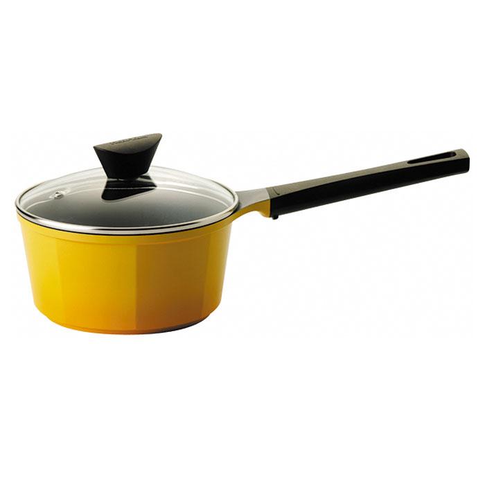 Ковш Frybest Posh c крышкой, 2л, цвет:желтый/темное внутр. покрытие CV-S18CV-S18Ковш Frybest изготовлен из алюминия с керамическим покрытием как внутри, так и снаружи. Он идеально подойдет для приготовления различных каш, соусов, кремов. Экологичное антипригарное покрытие Ecolon позволяет готовить практически без масла. Оно устойчиво к царапинам - можно использовать металлические аксессуары и легко моется. Ковш оснащен удобной ручкой и стеклянной крышкой с металлическим ободом, которая позволит контролировать процесс приготовления. Усиленный пароотвод эффективно удаляет избыточное давление. Посуда подходит для электрической, стеклокерамической, газовой и галогеновой плиты, кроме индукционных. Можно мыть в посудомоечной машине. Элегантный художественный дизайн изделий. Высочайшее качество литья — идеальная поверхность изделий. Уникальные, очень удобные, алюминиевые интегрированные ручки. Возможность использовать посуду как на всех типах плит, так и внутри духовки. Эстетически привлекательная текстура...