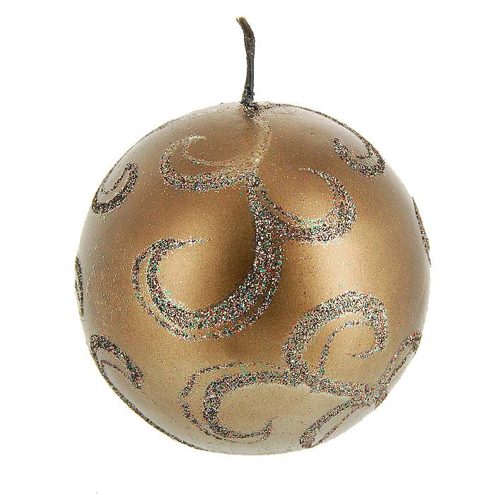 Свеча Снип Снап Снурре Узоры, цвет: шоколадный, диаметр 7 см0152-0012Шарообразная свеча шоколадного цвета, выполнена из воска и декорирована блестками. Такая свеча украсит интерьер вашего дома или офиса в преддверии Нового года. Оригинальный дизайн и красочное исполнение создадут праздничное настроение. Откройте для себя удивительный мир сказок и грез. Почувствуйте волшебные минуты ожидания праздника, создайте новогоднее настроение вашим дорогим и близким. Характеристики: Материал: воск. Диаметр свечи: 7 см. Изготовитель: Китай. Артикул: 0152-0012.