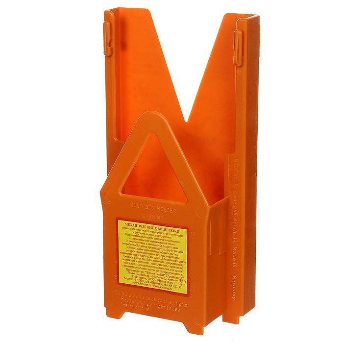Мультибокс для овощерезки Borner Classic, цвет: оранжевый 117/0