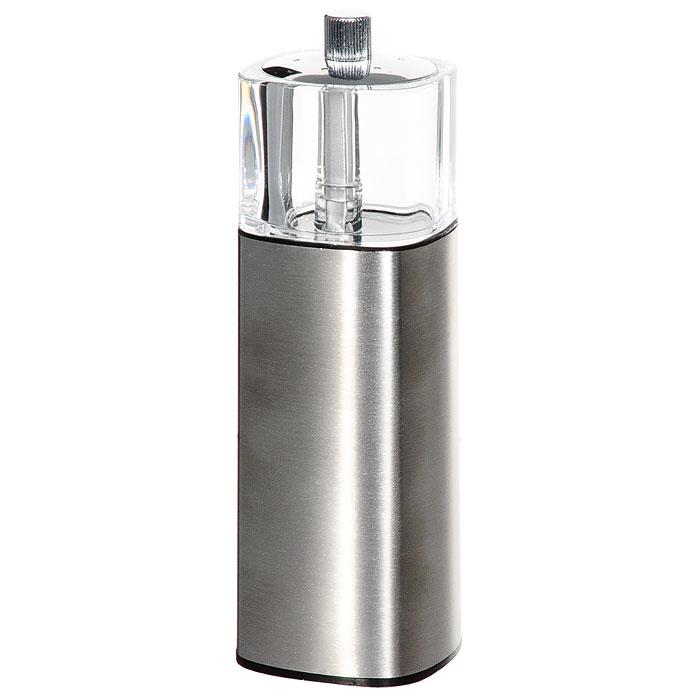 Мельница для специй Borner 912816912816Мельница для перца Borner с солонкой, изготовленная из пластика и металла, легка в использовании. Стоит только покрутить верхнюю часть мельницы, и вы с легкостью сможете поперчить по своему вкусу любое блюдо. Механизм мельницы изготовлен из керамики. Оригинальная мельница модного дизайна будет отлично смотреться на вашей кухне.