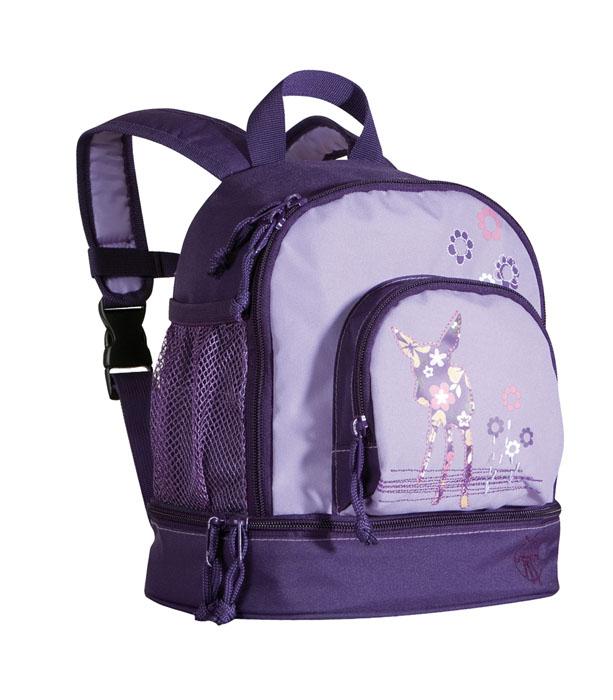 """Стильный рюкзак Lassig  """"Олененок """" фиолетового цвета - это красивый и..."""