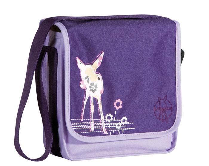 Lassig Детство Сумка Мини-мессенжер олень фиолетовый.