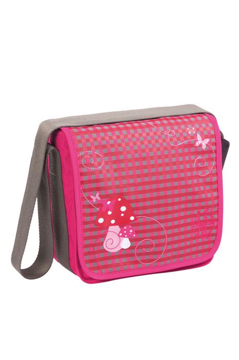 """Удобная и практичная сумка мини-мессенжер Lassig  """"Грибок """", выполненная..."""