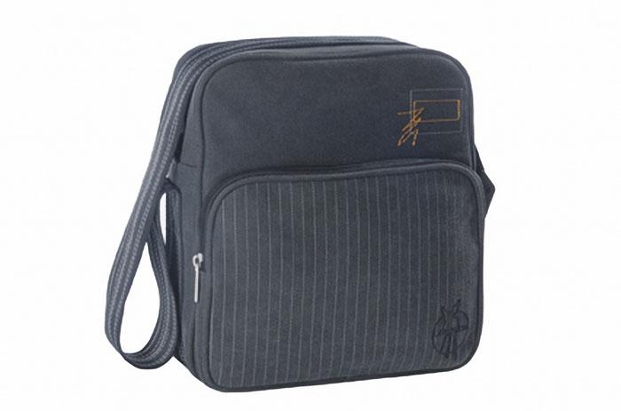 Lassig Винтаж Маленькая квадратная сумка тонкая полоска.
