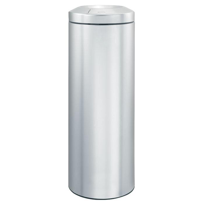 Корзина для бумаг Brabantia Flame Guard, с защитой от возгорания, цвет: матовый стальной, 20 л378560Несгораемая корзина для бумаг Flame Guard выполнена из антикоррозийной матовой стали, станет идеальным безопасным решением для вашего дома или офиса. Урна оснащена съемным гасителем огня из нержавеющей стали, который изолирует доступ кислорода в случае возгорания отходов, и огонь гаснет. Содержимое мусорного ведра практически полностью скрыто от глаз, а съемная внутренняя металлическая корзина легко чистится и устойчива к коррозии. Пластиковый защитный обод предотвращает повреждение пола. В комплект входят фирменные мусорные мешки. Модель протестирована и сертифицирована RWTUV Германии. Характеристики: Материал: сталь, пластик. Объем: 20 л. Высота корзины: 67,5 см. Диаметр корзины: 25,1 см. Гарантия производителя: 5 лет.