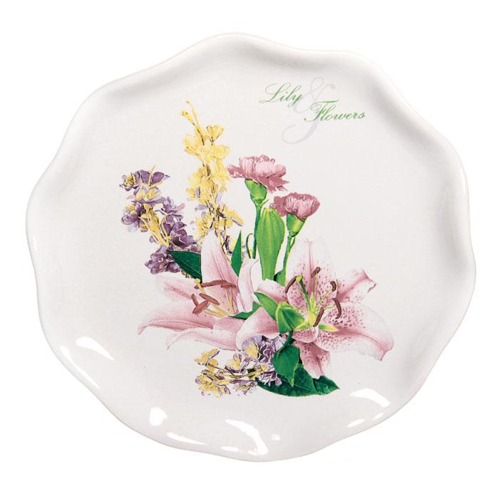 Тарелка десертная Гармония, диаметр 18,5 см4601137085296Десертная тарелка Гармония станет достойным украшением вашего интерьера. Она изготовлена из высококачественной керамики белого цвета и оформлена изысканным цветочным рисунком. Тарелка - наиболее распространенный вид столовой посуды, именно ею мы чаще всего пользуемся во время приема пищи. Оригинальный рисунок поднимет настроение вам и вашим близким. Характеристики: Материал: керамика. Диаметр тарелки: 18,5 см. Размер упаковки: 18,5 см х 3 см х 19 см. Изготовитель: Китай. Артикул: DFC 01870S-01422.