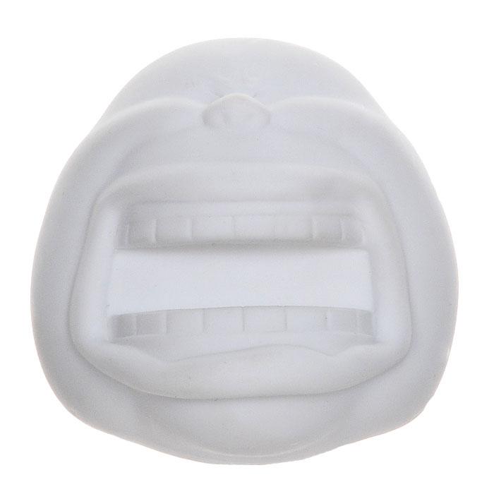 Держатель для бумаги Big Smile, на магнитах, цвет: белыйLU009Держатель Big Smile представляет собой забавную рожицу с открытым ртом, в который вставляется блок бумаги для записей, ручка или карнадаш. Держатель крепится к гладкой поверхности при помощи магнитов. Этот оригинальный и функциональный аксессуар подарит хорошее настроение и украсит интерьер.