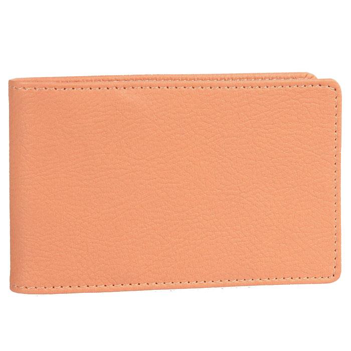 Визитница Skiver, цвет: оранжевый67966Компактная горизонтальная визитница Skiver - стильная вещь для хранения визиток. Обложка визитницы выполнена из высококачественной итальянской искусственной кожи с гладкой поверхностью. Внутри находится съемный блок с кармашками, рассчитанный на 14 визиток и четыре кармашка из кожи. Такая визитница станет замечательным подарком человеку, ценящему качественные и практичные вещи. Характеристики: Материал: искусственная кожа, пластик. Размер визитницы: 11 см х 6,8 см. Цвет: оранжевый. Размер упаковки: 11,4 см х 7 см х 1,5 см. Изготовитель: Финляндия. Артикул: 67966.