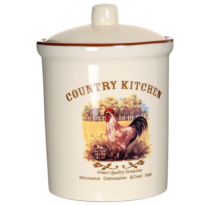 Банка для продуктов Terracota Деревенское утро 17 см TLY301-2-CO-ALTLY301-2-CO-ALБанка Деревенское утро, выполненная из жаропрочной керамики и покрытая высококачественной глазурью, станет незаменимым помощником на кухне. В ней будет удобно хранить разнообразные сыпучие продукты, такие как кофе, крупы, макароны или специи. Емкость легко закрывается герметичной крышкой. Оригинальный дизайн позволит сделать такую емкость отличным подарком на любой праздник.