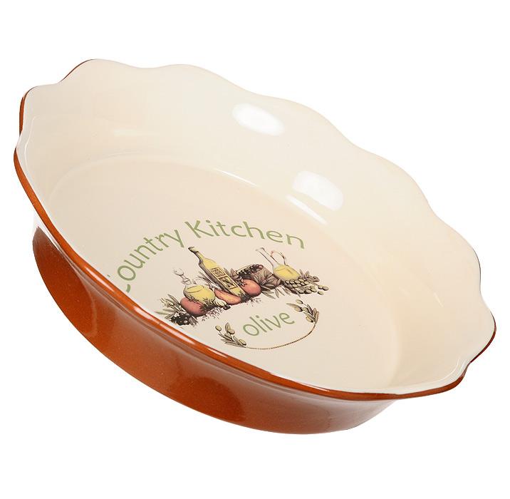 Блюдо для выпечки Terracotta Олива 26 см TLY081-O-ALTLY081-O-ALКруглое блюдо для выпечки Олива изготовлено из жаропрочной керамики с нанесением высококачественной глазури, что обеспечивает оптимальное распределение тепла. Блюдо станет отличным дополнением к вашему кухонному инвентарю, а также украсит сервировку стола и подчеркнет прекрасный вкус хозяина. Допускается мытье в посудомоечной машине при соблюдении инструкции изготовителя посудомоечной машины.