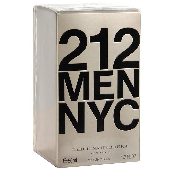 Carolina Herrera 212 Men. Туалетная вода, 50 мл