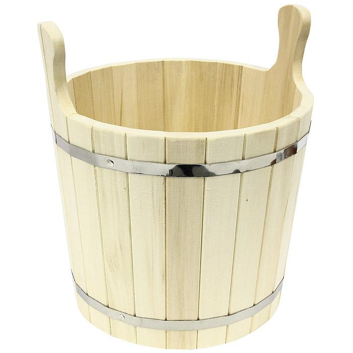Запарник для бани Банные штучки, 15 л03606Запарник, изготовленный из дерева, доставит вам настоящее удовольствие от банной процедуры. При запаривании веник обретает свою природную силу и сохраняет полезные свойства. Корпус запарника состоит из стянутых металлическими обручами клепок. Интересная штука - баня. Место, где одинаково хорошо и в компании, и в одиночестве. Перекресток, казалось бы, разных направлений - общение и здоровье. Приятное и полезное. И всегда в позитиве.