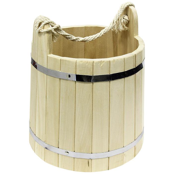 Ведро Банные штучки, 18 л03369Одним из тех приятных мелочей, без которых не обойтись при принятии банных процедур, является ведро для бани, изготовленное из дерева. Ведро прекрасно подойдет для обливания, замачивания веника или других банных процедур.