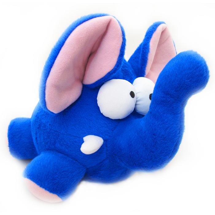 Мягкая интерактивная игрушка Woody OTime Слоник, цвет: синий, розовый, 15 смWT0104Woody OTime Свинка - яркая анимированная игрушка в виде забавного синего слона. При нажатии, хлопке или броске начинает хихикать, кружится и дрожать. Игрушка изготовлена из нетоксичных экологически чистых материалов, очень мягкая и чрезвычайно приятная на ощупь. После стирки не деформируется и не теряет внешний вид. Такая игрушка будет отлично смотреться в качестве оригинального веселого подарка и доставит массу положительных эмоций своему обладателю.