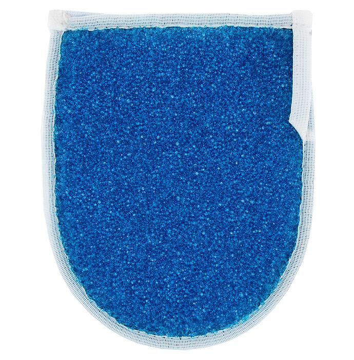 Мочалка массажная Рукавица, цвет: синийМ32Мочалка Рукавица со средним уровнем жесткости превосходно массажирует, тонизирует и очищает кожу. Благодаря своему составу она отлично пенится. На мочалке имеется удобная петля для подвешивания. Подходит для всех типов кожи и не вызывает аллергии.