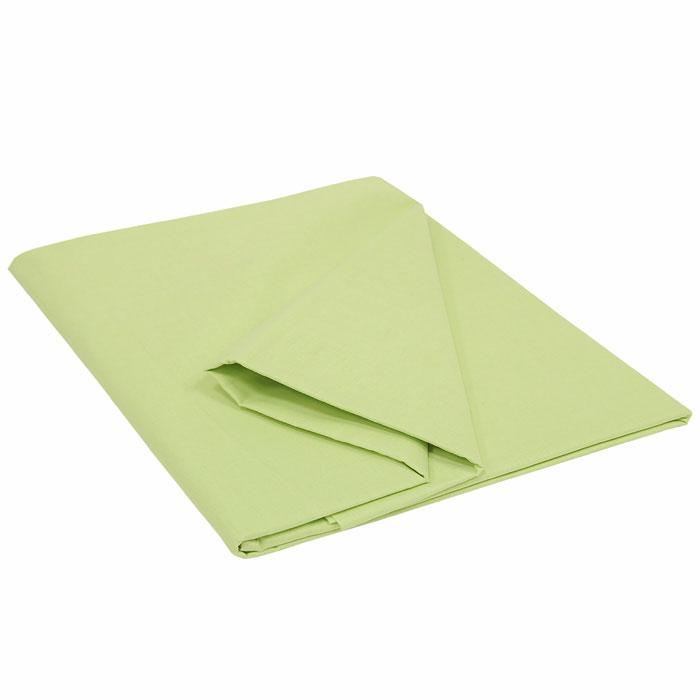 Простыня Style, цвет: салатовый, 215 см х 220 см114911502Простыня Style изготовлена из натурального хлопка и абсолютно безопасна даже для самых маленьких членов семьи. Она обладает высокой плотностью, необычайной мягкостью и шелковистостью. Простыня из такого хлопка выдержит большое количество стирок и не потеряет цвет. Выбрав простыню нужной вам расцветки, вы можете легко комбинировать ее с различным постельным бельем.
