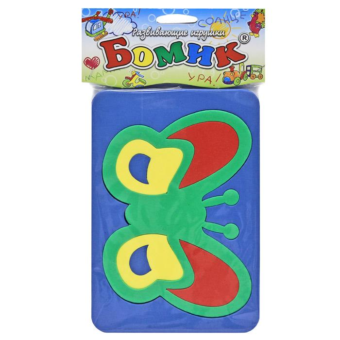 Бомик Пазл для малышей Мотылек120Мягкая мозаика Мотылек выполнена из особого материала, который дает юному конструктору новые удивительные возможности в игре: детали мозаики гнутся, но не ломаются, их всегда можно состыковать. Такая мозаика развивает пространственное и логическое мышление, память и глазомер. Знакомит с формами и цветом предмета в процессе игры. Рекомендована для занятий дома и в детских садах. Мозаика изготовлена из мягкого, прочного материала, который обеспечивает большую долговечность и является абсолютно безопасным для детей. Характеристики: Размер мозаики в собранном виде: 21 см х 14,5 см х 1 см. Уважаемые клиенты! Обращаем ваше внимание на ассортимент в цветовом дизайне товара. Поставка осуществляется в зависимости от наличия на складе.