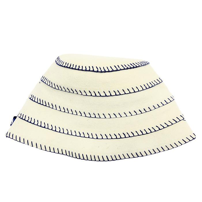 Шапка для бани и сауны Matti (Матти), цвет: бежевый. Размер M. 165165 MИзысканная утонченность шапок Matti (Матти), выполненных из натурального фетра, радует идеальной выделкой шерсти, что делает их удивительно гигроскопичными и защищает от высоких температур в парной. Особые дизайнерские находки нашли свое воплощение в необычном крое и высокой комфортности изделий. Контрастная окантовка привлекает внимание, объединяя благородство форм и лаконичность стиля.