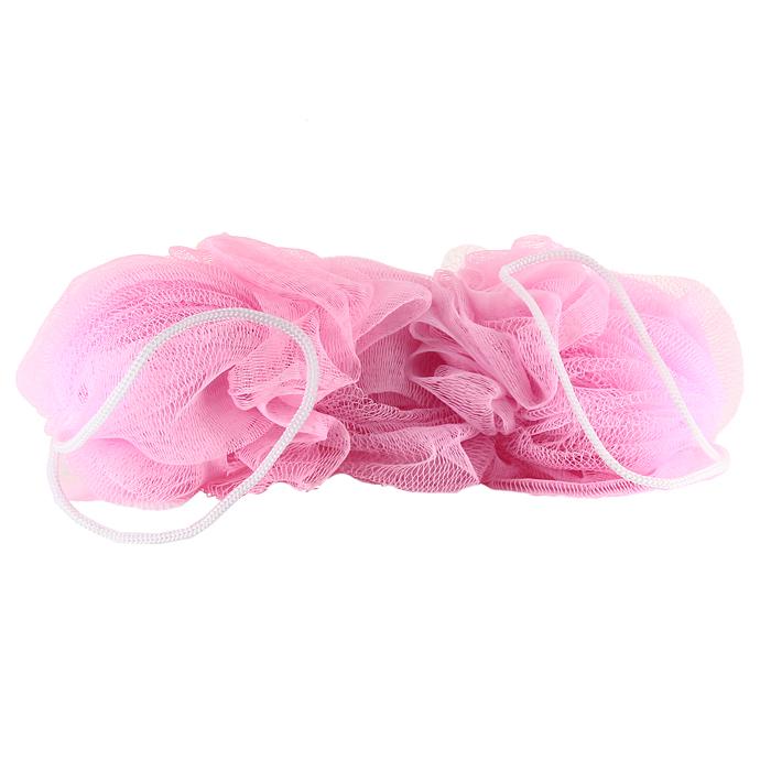 Мочалка Eva Тройная, с ручками, цвет: фуксия, 24 х 10 смМС-40_фуксияМочалка Eva Тройная, выполненная из нейлона, предназначена для мягкого очищения кожи. Она станет незаменимым аксессуаром ванной комнаты. Мочалка отлично пенится, обладает легким массажным воздействием, идеально подходит для нежной и чувствительной кожи. Мочалка имеет две удобные ручки. Размер мочалки: 24 х 10 см. Длина ручки: 13 см.