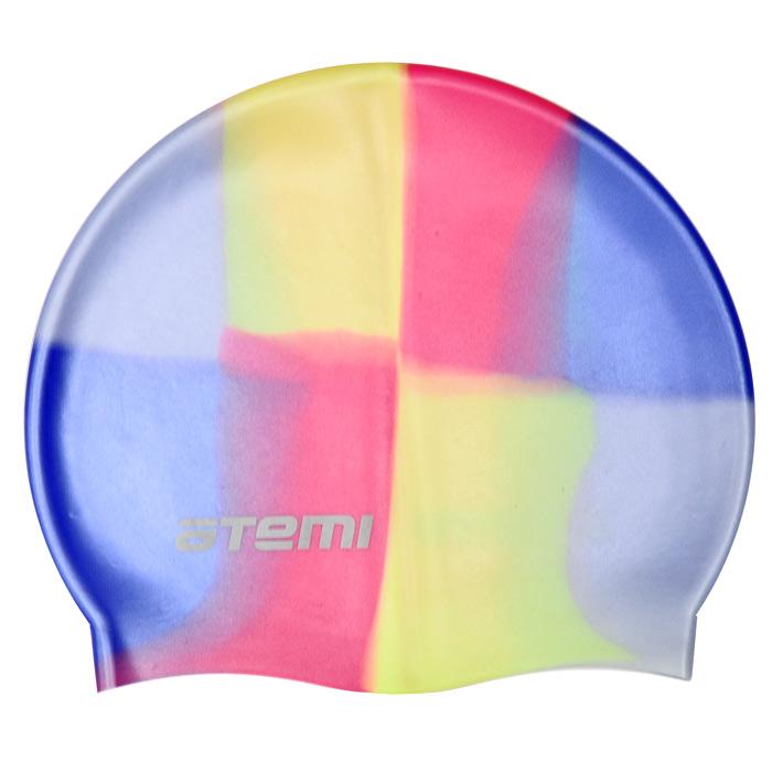 Шапочка для плавания ATEMI, силиконовая, цвет: мультиколор. MC 204MC 204Многоцветная шапочка для плавания ATEMI изготовлена из силикона. Шапочка плотно облегает голову, подходит для спортивного плавания. Рассчитана на долгий срок службы. Хранится в специальном чехле из мягкого пластика на застежке. На чехле есть петелька, с помощью которой его можно повесить в душевой.