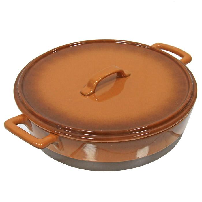 Кастрюля Enns с крышкой керамическая, 3 лUCW-4202/36Кастрюля Enns с крышкой выполнена из керамики, станет незаменимым помощником у вас на кухне. Основные преимущества керамической кастрюли Enns с крышкой: Подходит для использования в микроволновой, конвекционной печи и духовке; Подходит для хранения продуктов в холодильнике и морозильной камере; Устойчива к температурам от -30°С до +220°С; Можно мыть в посудомоечной машине; Идеально подходит для сервировки стола. Характеристики: Материал: керамика. Диаметр кастрюли (без ручек): 28 см. Высота стенок: 7,5 см. Объем: 3 л. Производитель: Австрия. Артикул: UCW-4202/36. Керамическая посуда пользуется огромной популярностью во всем мире, и не случайно. Всем известны достоинства этой необыкновенно красивой и практичной посуды. Ведь только керамическая посуда способна обеспечить равномерный нагрев и долгое сохранение температуры. Именно эти качества позволяют...