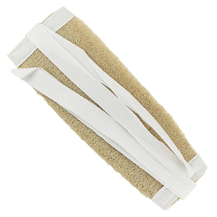 Мочалка натуральная с ручками EvaМ211Натуральная мочалка с ручками станет незаменимым аксессуаром ванной комнаты. Отлично пенится и быстро сохнет. Мочалка изготовлена из плодов люфы, благодаря чему она сохраняет все ценные свойства этого растения. Мочалка обладает массажным эффектом, она эффективно тонизирует и очищает кожу. Идеальна для профилактики и борьбы с целлюлитом. Подходит для всех типов кожи. Не вызывает аллергии.