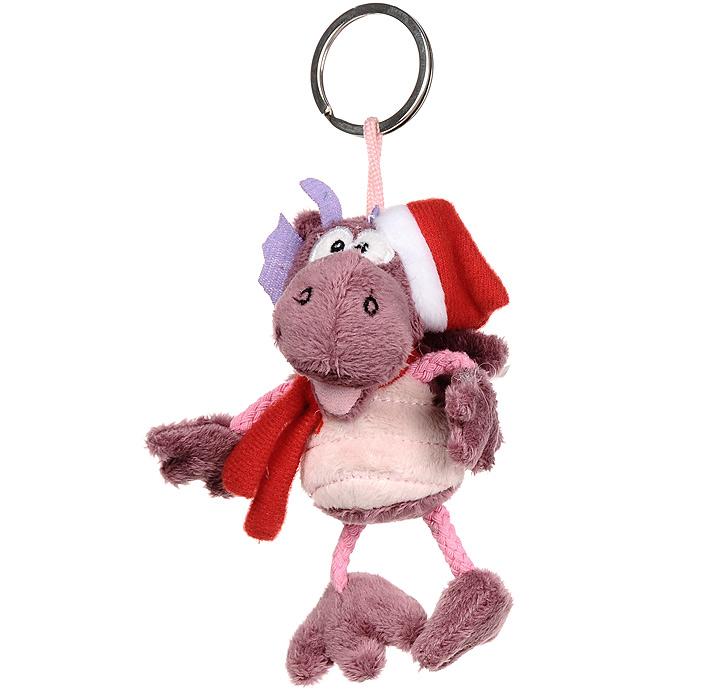Мягкая игрушка-брелок Дракон. TVB-2012/3PTVB-2012/3PМягкая игрушка-брелок Дракон - оригинальный подарок к Новому 2012 году. Дракон одет в красный колпачок и шарфик. Дракон выполнен из необычайно мягкого и безопасного материала, поэтому с ним смогут играть даже самые маленькие дети. Подарив такую мягкую игрушку, вы можете быть уверены, что она не оставит равнодушным того, кому предназначается.