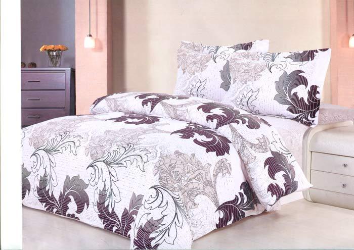 Комплект белья Soft Line, 2-спальный, наволочки 70х50. 0785407854Комплект белья Soft Line, выполненный из сатина (100% хлопок), состоит из пододеяльника, простыни и двух наволочек. Изделия оформлены ярким принтом. Комплект упакован в красивую подарочную упаковку. Постельное белье из сатина очень прочное и долговечное. Такой комплект выдержит многократное количество стирок, а яркие цвета не начнут тускнеть очень продолжительное время. Сатин практически не мнется, не электризуется, великолепно впитывает влагу и отлично вентилируется.