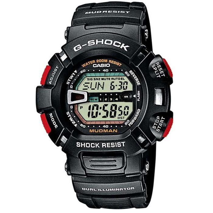 Наручные часы Casio G-9000-1VG-9000-1VНаручные многофункциональные часы Casio G-9000-1.