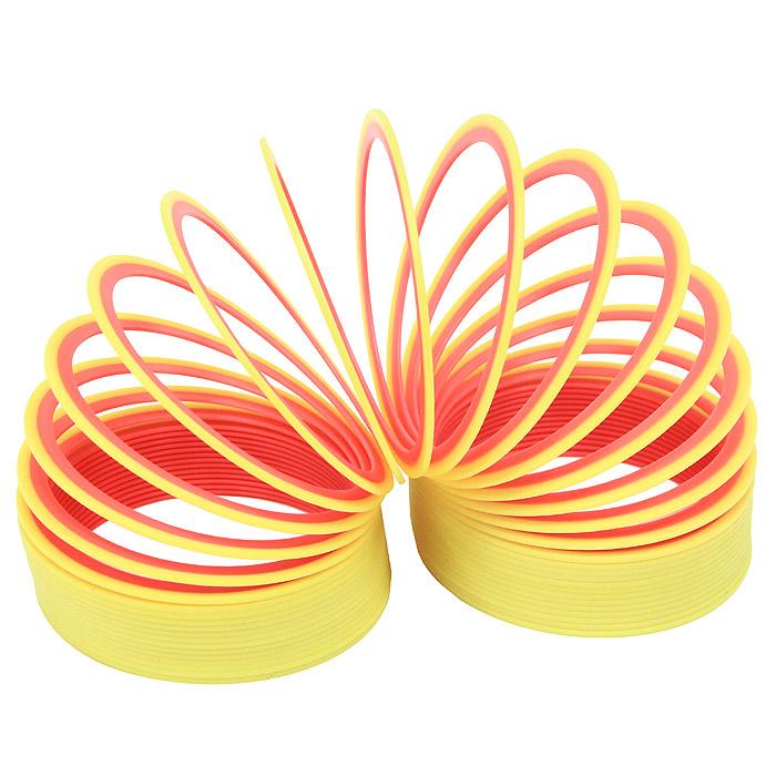 Пружинка Slinky neon, цвет: желто-розовыйСЛ122 желто-розовыйПружинка Slinky появилась после Второй Мировой Войны. Эта пружинка - одна из самых любимых и известных игр в мире. Из пружинок делали гирлянды, играли с ними, запутывали, распутывали, пытались заставить ходить по ступенькам лестницы. Пружинка Slinky была в каждом доме. Порадуйте и вы себя этой увлекательной игрой с неоновой пружинкой Slinky neon.