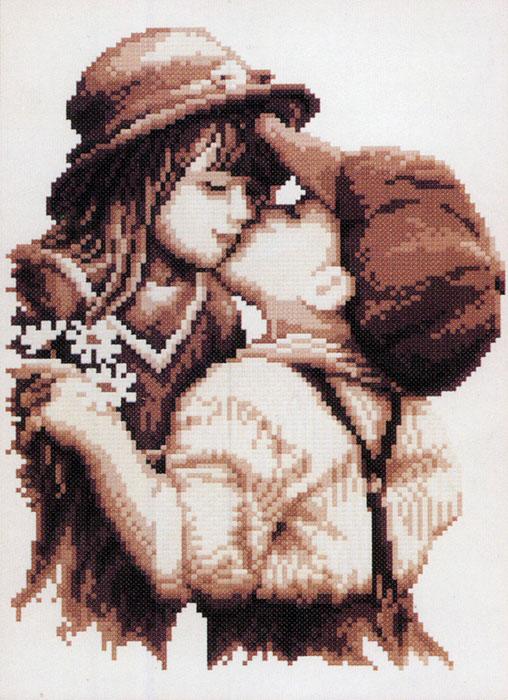 Набор для вышивания Первая любовь, 26 х 34 смRY-1665-14Набор для вышивания крестом Первая любовь состоит из схемы вышивки, канвы, ниток мулине для вышивания и двух специальных игл для вышивки с тупым концом и большим ушком. С помощью такого набора вы сможете создать своими руками очаровательный рисунок-вышивку, которая оригинально украсит интерьер вашего дома и станет прекрасным подарком для ваших друзей и близких.