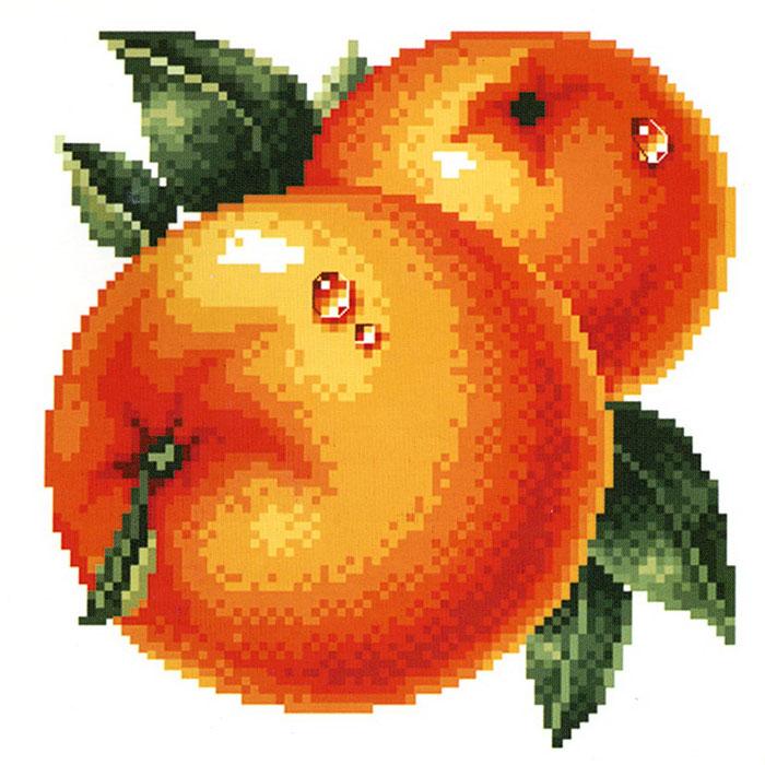 Набор для вышивания Сочные апельсины, 30 см х 30 смRY-737-14Набор для вышивания крестом Сочные апельсины состоит из схемы вышивки, канвы, ниток мулине для вышивания и двух специальных игл для вышивки с тупым концом и большим ушком. С помощью такого набора вы сможете создать своими руками очаровательный рисунок-вышивку, которая оригинально украсит интерьер вашего дома и станет прекрасным подарком для ваших друзей и близких.