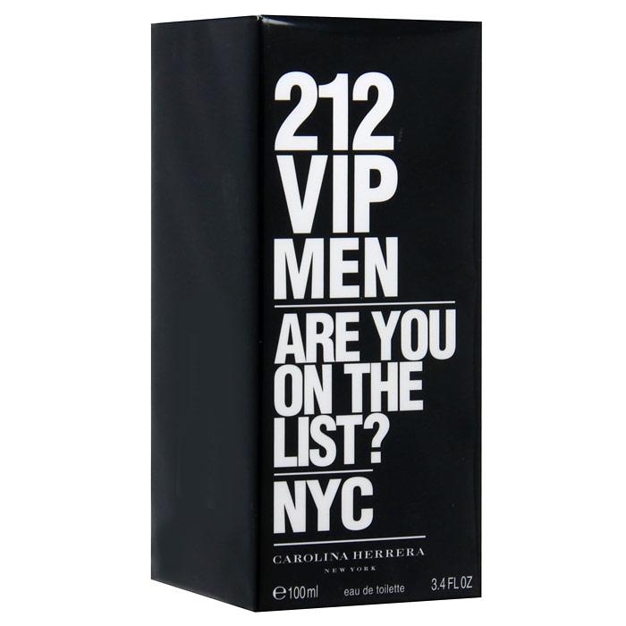 Carolina Herrera 212 VIP Men. Туалетная вода, 100 мл8411061723760Мужчина по версии 212 VIP – харизматичный, веселый, стильный, желанный. Он - объект для подражания. Аромат 212 VIP MEN – взрывной коктейль из холодной водки и мяты, пальчикового лайма и будоражущих специй, вдохновленный самыми жаркими вечеринками. Лаймовая Икра придает аромату фруктовый оттенок и делает его более элегантным. Изысканный VIP-фрукт для истинных Королей вечеринок. Охлажденная Водка с добавлением замороженной мяты заряжает на всю ночь. Королевское Дерево, Пикантная Амбра и Бобы Тонка придают аромату неподражаемый почерк, делая его чувственным, но мужественным. Лаймовая икра и аромат водки - костель успешных и привилегированных.