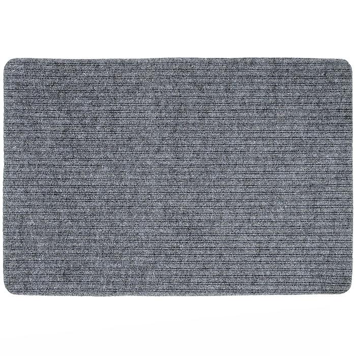 """Коврик придверный Vortex """"Simple"""", цвет: серый, 50 х 80 см"""