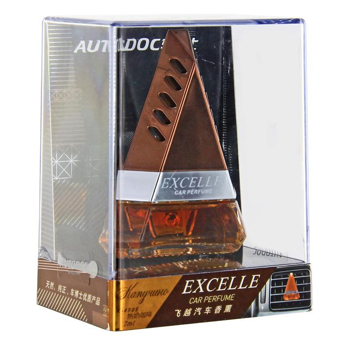 """Освежитель воздуха на дефлектор """"Excelle. Капучино"""", 7 мл, Autodoc"""