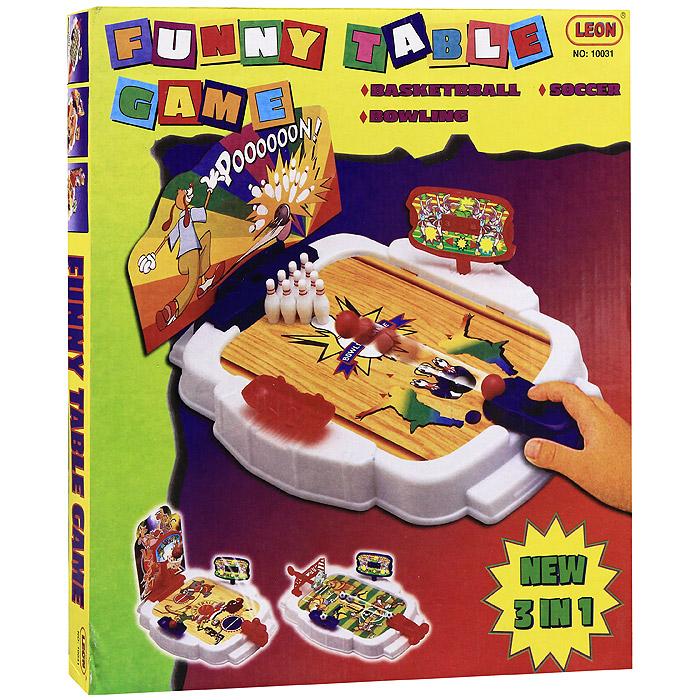 "Настольная игра ""Funny Table Game"", 3 в 1 ( TG310004 )"