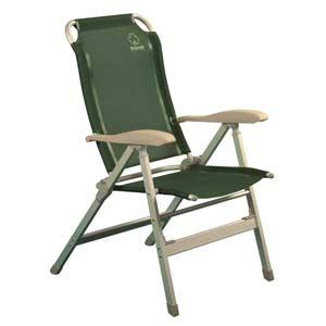 Кресло складное Greenell FC-1071101Кемпинговое кресло с регулировкой наклона спинки. 8 положений фиксируются подлокотниками. Ткань: сетчатый полиэстер - легко моется и устойчив к ультрафиолету.
