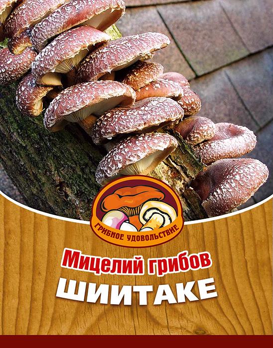 Мицелий грибов Шиитаке, 16 древесных палочек10010Шиитаке - в Японии, Китае и Корее их считают самыми вкусными и необыкновенно целебными грибами. Лечебные свойства: повышает иммунитет, мужскую потенцию, нормализует кровяное давление, имеет противоопухолевые свойства. Благодаря мицелию грибов Шиитаке теперь вы без труда сможете вырастить любимые грибы у себя в саду или дома. И уже через 5-9 месяцев после посадки у вас появится первый урожай грибов. За один год можно собрать от 4 до 6 кг с каждого бревна. Для того чтобы вырастить грибы вам понадобится: мицелий Грибное удовольствие, бревно или палка лиственных пород (бук, тополь, береза, ива, клен, рябина и плодовые деревья), дрель. Благоприятное время для посадки мицелия Шиитаке - в природных условиях с апреля по октябрь, в помещении - круглый год. Плодоносят мицелии в среднем от 3 до 5 лет, в зависимости от сорта грибов. Характеристики: Материал: древесная палочка. Размер упаковки: 11 см х 15,5 см. Артикул: 10010.