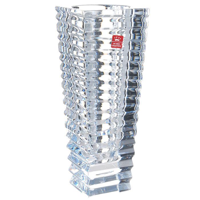 Ваза Miraggio, высота 26,5 см239010Ваза Miraggio изготовлена из высококачественного хрусталя итальянской марки RCR. Элегантный дизайн и изящные формы вазы привлекут к себе внимание и украсят интерьер. Ваза Miraggio станет отличным подарком к любому празднику. RCR - это наиболее распространенная марка итальянского хрусталя, благодаря удивительному блеску, полноте ее ассортимента, многогранности ее стиля, являющегося классическим и теплым для особых случаев, современным и свежим для повседневной жизни под знаком элегантности.