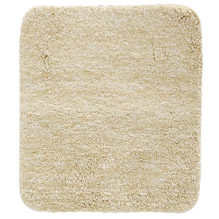 Коврик для ванной комнаты Gobi, цвет: светло-бежевый, 55 х 65 см1012515Коврик для ванной комнаты Gobi светло-бежевого цвета выполнен из полиэстера высокого качества. Прорезиненная основа коврика позволяет использовать его во влажных помещениях, предотвращает скольжение коврика по гладкой поверхности, а также обеспечивает надежную фиксацию ворса. Коврик добавит тепла и уюта в ваш дом.