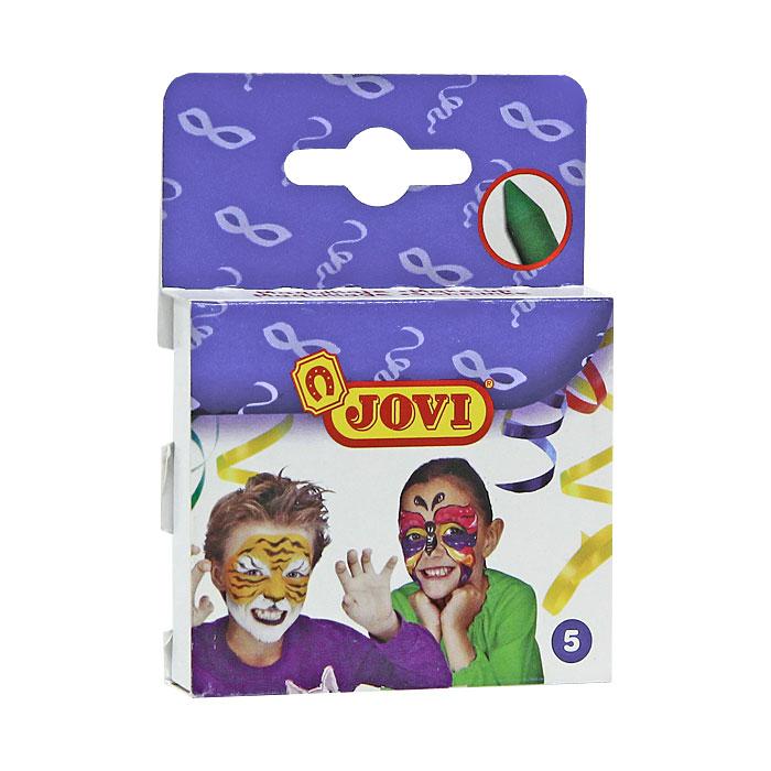 Набор красок для грима Jovi, 5 цветов175С помощью набора красок для грима Jovi ребятишки могут инсценировать яркое театральное представление на Новый год, День рождение или другой праздник. Краски в виде мелка состоят из натурального воскового пигмента, который не впитывается в кожу, легко смывается обычной водой и абсолютно безопасен для детей. Яркие цвета легко смешиваются между собой. В наборе краски белого, желтого, красного, синего и черного цветов. Характеристики: Размер мелка: 0,9 см х 0,9 см х 6 см. Размер упаковки: 7 см х 6 см х 1,5 см.