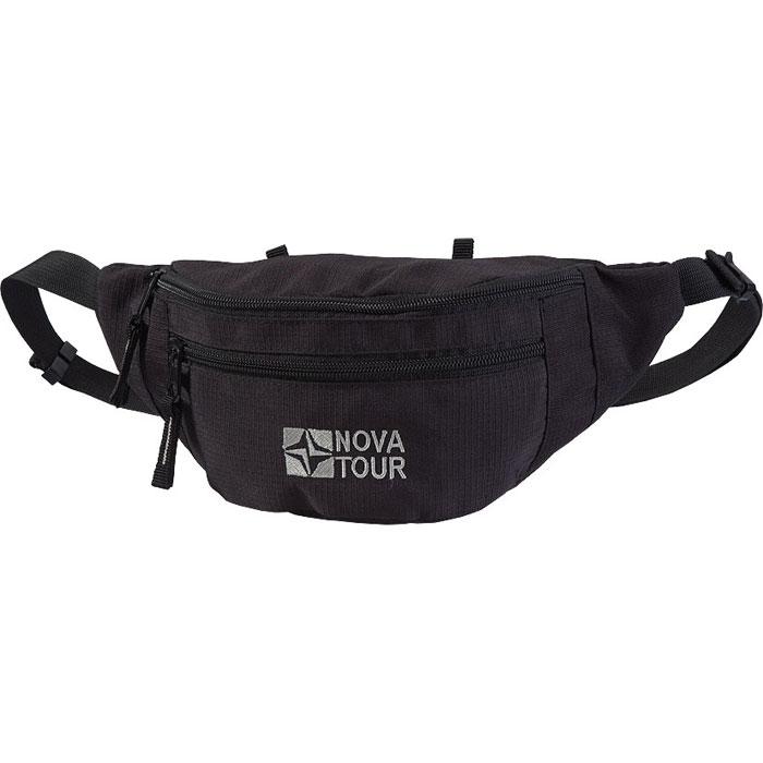 """Сумка поясная  """"NOVA TOUR """", цвет: черный Nova Tour."""