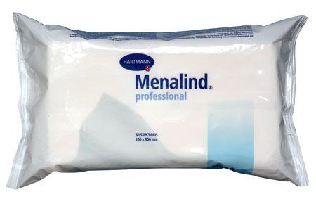 Влажные гигиенические салфетки MENALIND ( 50шт.)  Hartmann.
