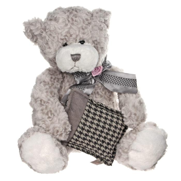 Мягкая игрушка Мишка Бруно с подушкой, 28 смTS-А5533-37Симпатичная мягкая игрушка Мишка Бруно с подушкой, выполненная из искусственного меха и трикотажа, не оставит равнодушным ни ребенка, ни взрослого и вызовет улыбку у каждого, кто ее увидит. Необычайно мягкая, она принесет радость и подарит своему обладателю мгновения нежных объятий и приятных воспоминаний. Оригинальный дизайн, европейский стиль и великолепное качество исполнения делают эту игрушку чудесным подарком к любому празднику, а жизнерадостный образ представит такой подарок в самом лучшем свете.