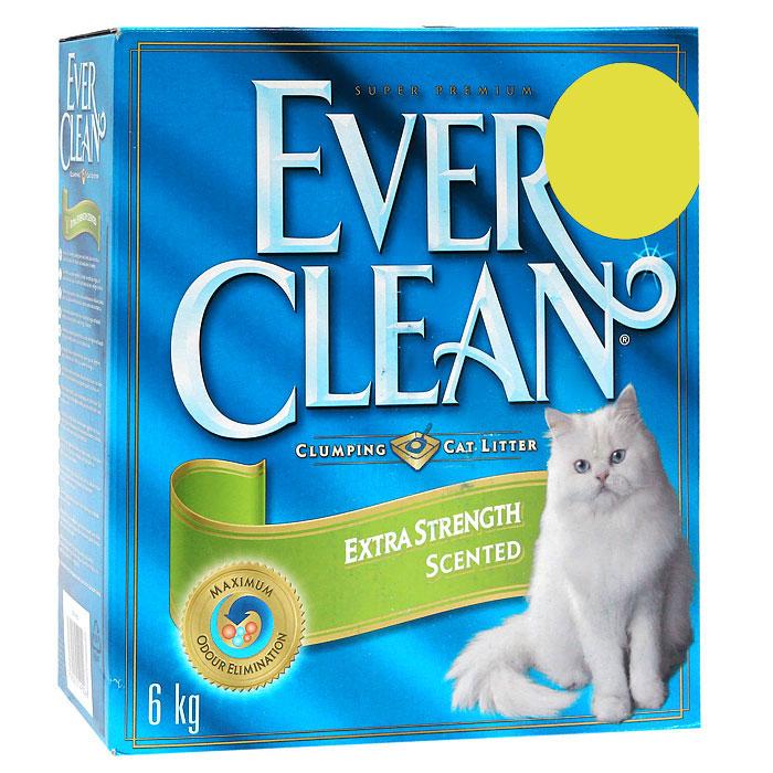 """Наполнитель Ever Clean """"Extra Strength Scented"""" для кошачьего туалета, с ароматизатором"""