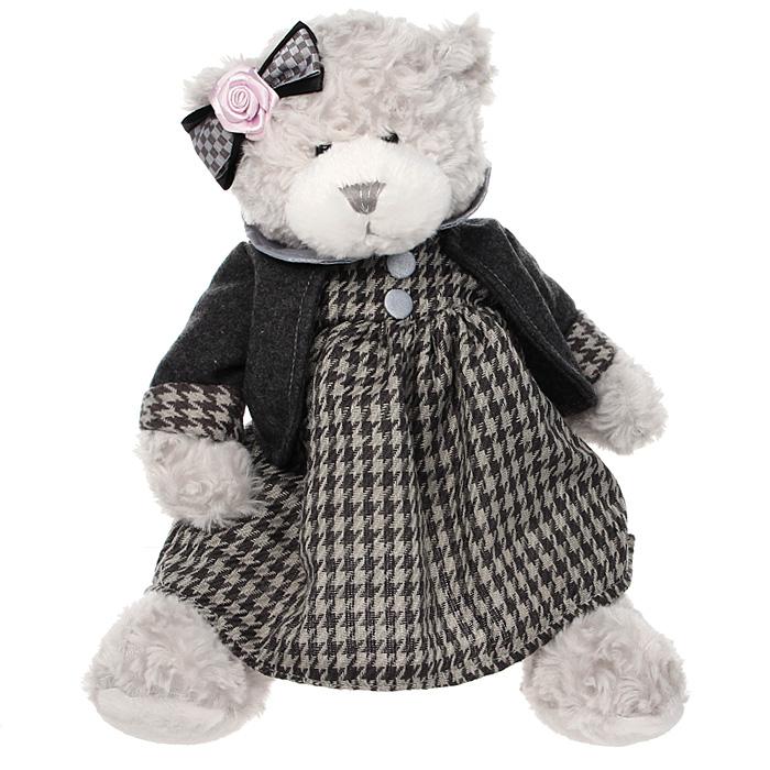 Мягкая игрушка Мишка Миа, 25 смTS-А5530-35GСимпатичная мягкая игрушка мишка Миа, выполненная из трикотажа и искусственного меха, не оставит равнодушным ни ребенка, ни взрослого и вызовет улыбку у каждого, кто ее увидит. Необычайно мягкая, она принесет радость и подарит своему обладателю мгновения нежных объятий и приятных воспоминаний. Европейский стиль и великолепное качество исполнения делают эту игрушку чудесным подарком к любому празднику, а оригинальный жизнерадостный образ представит такой подарок в самом лучшем свете.