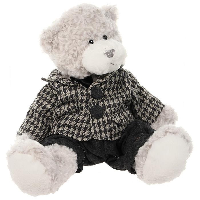 Мягкая игрушка Мишка Бруно, 25 смTS-А5530-35BСимпатичный мягкий мишка Бруно, выполненный из трикотажа и искусственного меха, не оставит равнодушным ни ребенка, ни взрослого и вызовет улыбку у каждого, кто его увидит. Необычайно мягкий, он принесет радость и подарит своему обладателю мгновения нежных объятий и приятных воспоминаний. Европейский стиль и великолепное качество исполнения делают эту игрушку чудесным подарком к любому празднику, а оригинальный жизнерадостный образ представит такой подарок в самом лучшем свете.
